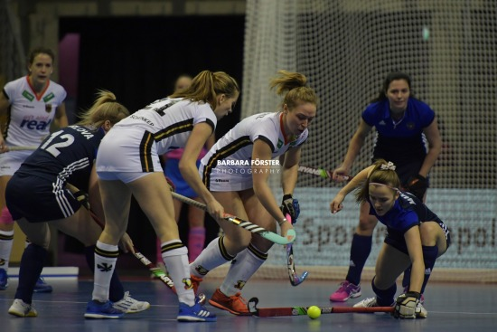 Indoor Hockey  - World Cup 2018 in Berlin - Women - Germany vs Russia
