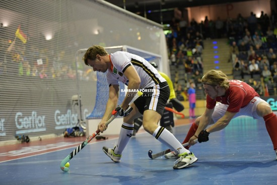 Indoor Hockey World Cup 2018 in Berlin - Men - Germany vs Czech Republic
