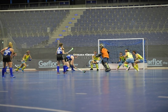 Indoor Hockey World Cup 2018 in Berlin - Women - USA vs Kazakhstan