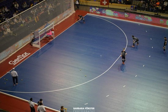 Indoor Hockey  - World Cup 2018 in Berlin - Men - Semi  Finals - Germany vs Iran