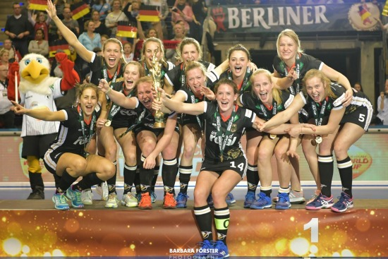 Indoor Hockey  - World Cup 2018 in Berlin - Flower Ceromony